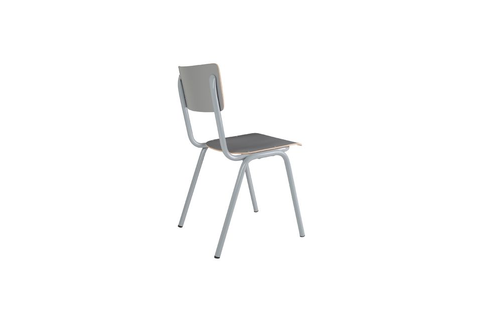 Chaise Back To School Grise - 8
