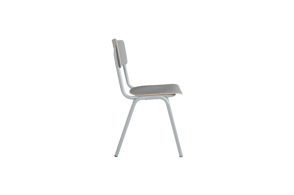 Chaise Back To School Grise - 9