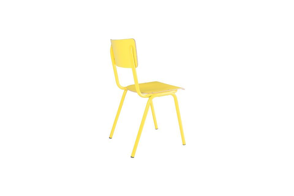 Chaise Back To School Jaune - 8
