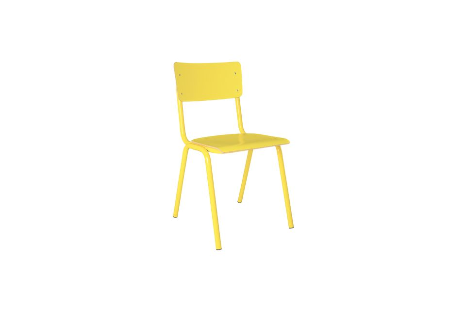 Chaise Back To School Jaune