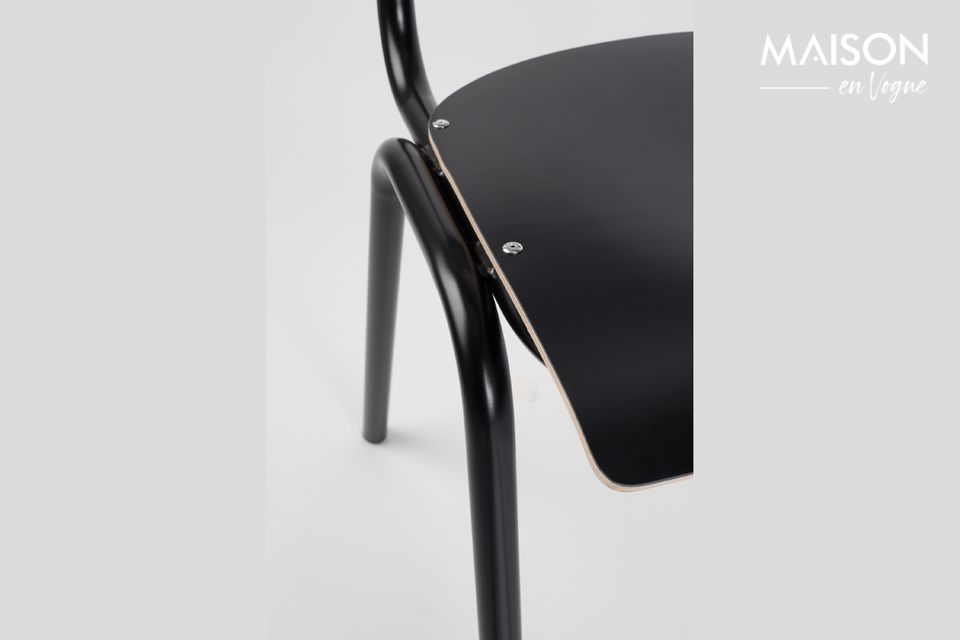 Chaise Back To School Noire - 5