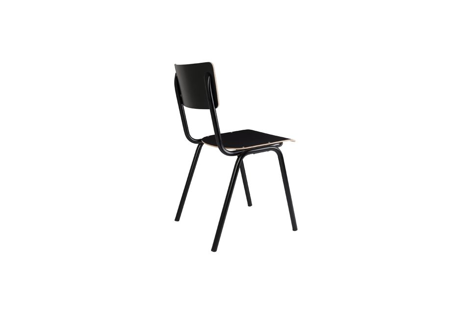 Chaise Back To School Noire - 7