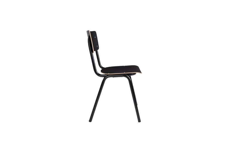 Chaise Back To School Noire - 9