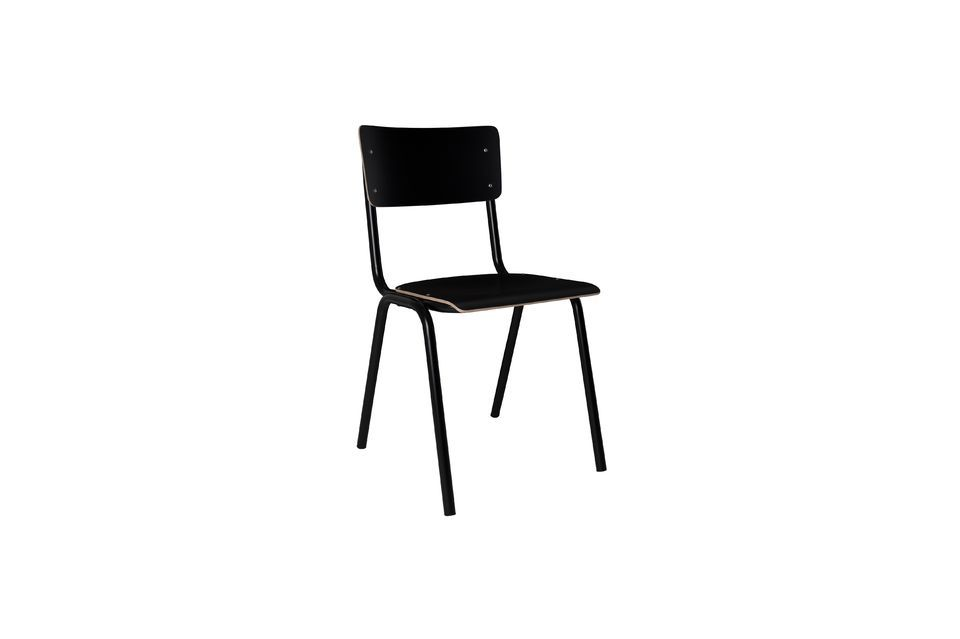 Chaise Back To School Noire - 8