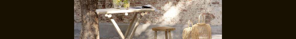 Mise en avant matière Chaise Bar Insula