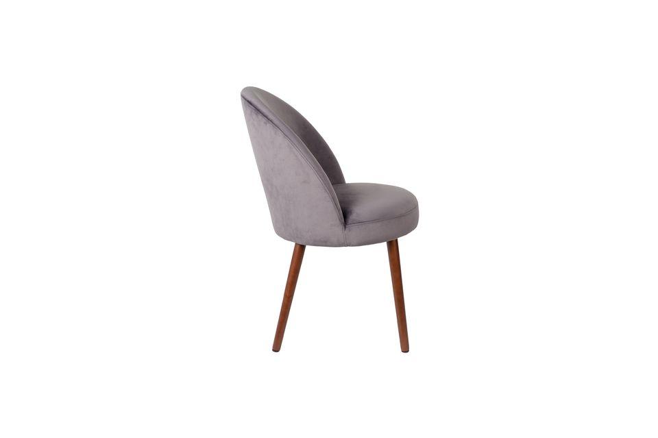 Chaise Barbara grise - 6
