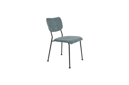 chaise benson gris-bleu