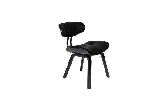 Chaise Blackwood noire