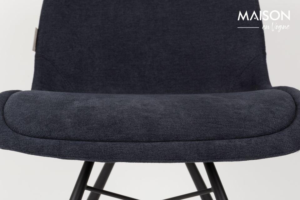 Zuiver propose la chaise Brent en 3 couleurs différentes