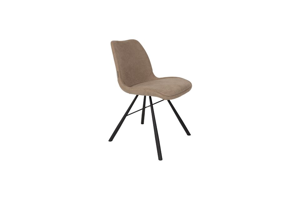 Chaise Brent Sable - 5