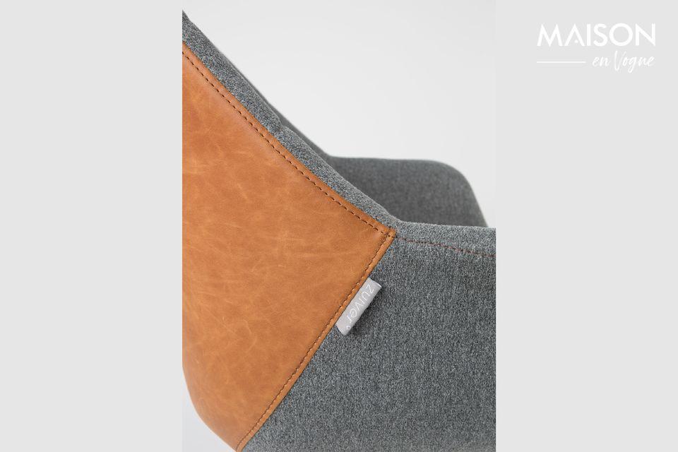 Chaise de bureau Doulton Vintage Brown - 6