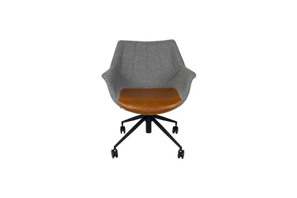 Chaise de bureau Doulton Vintage Brown - 9