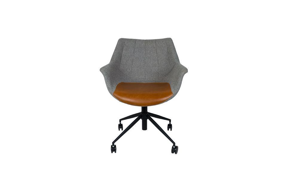 Chaise de bureau Doulton Vintage Brown - 10