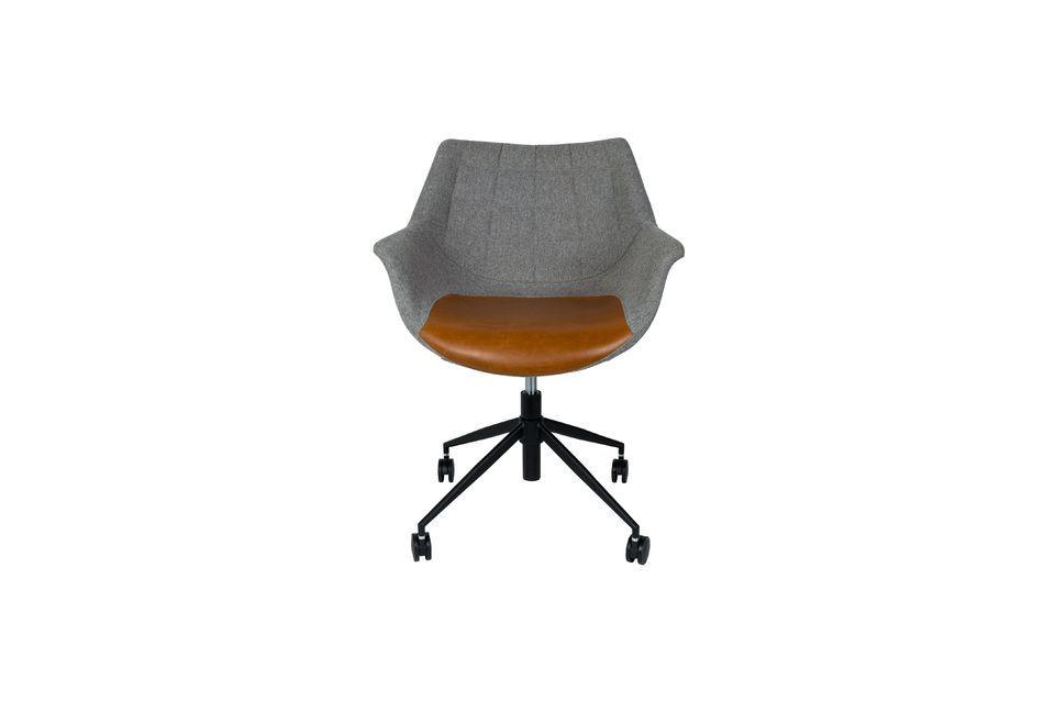 Chaise de bureau Doulton Vintage Brown - 11