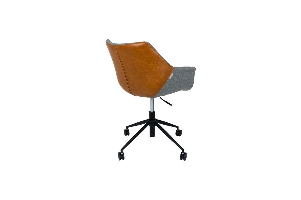 Chaise de bureau Doulton Vintage Brown - 13