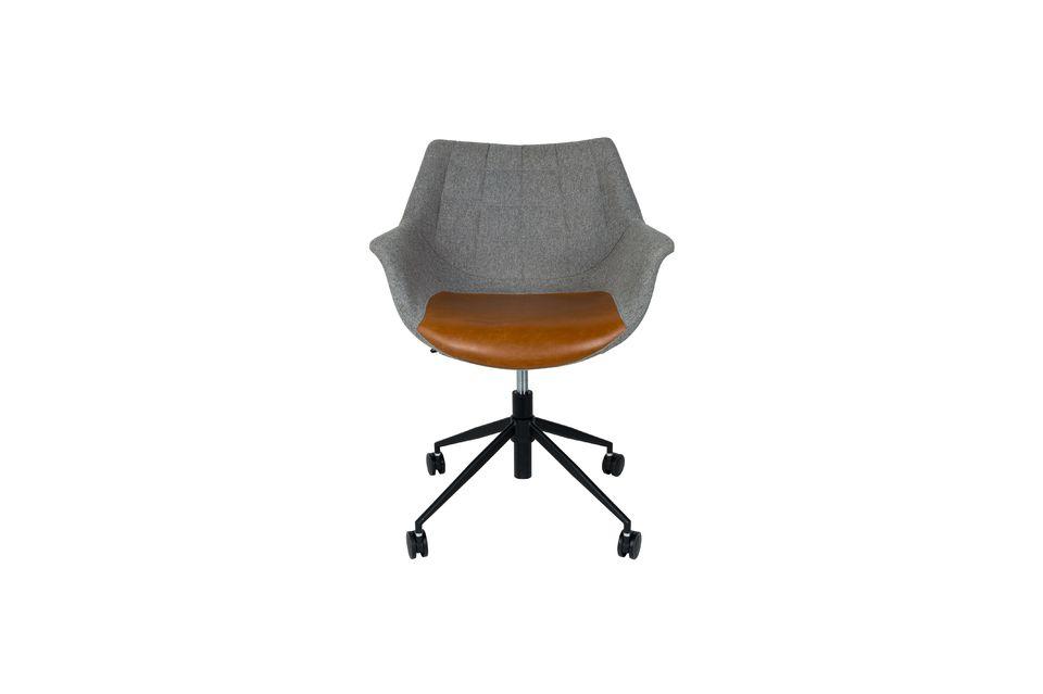 Chaise de bureau Doulton Vintage Brown - 14