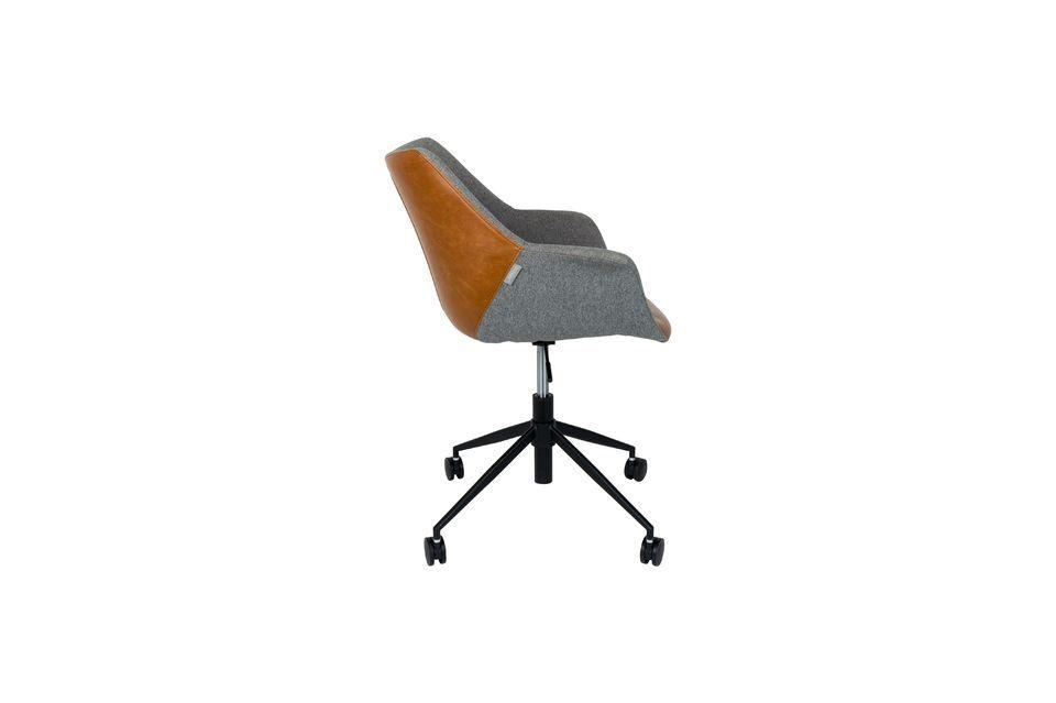 Chaise de bureau Doulton Vintage Brown - 15