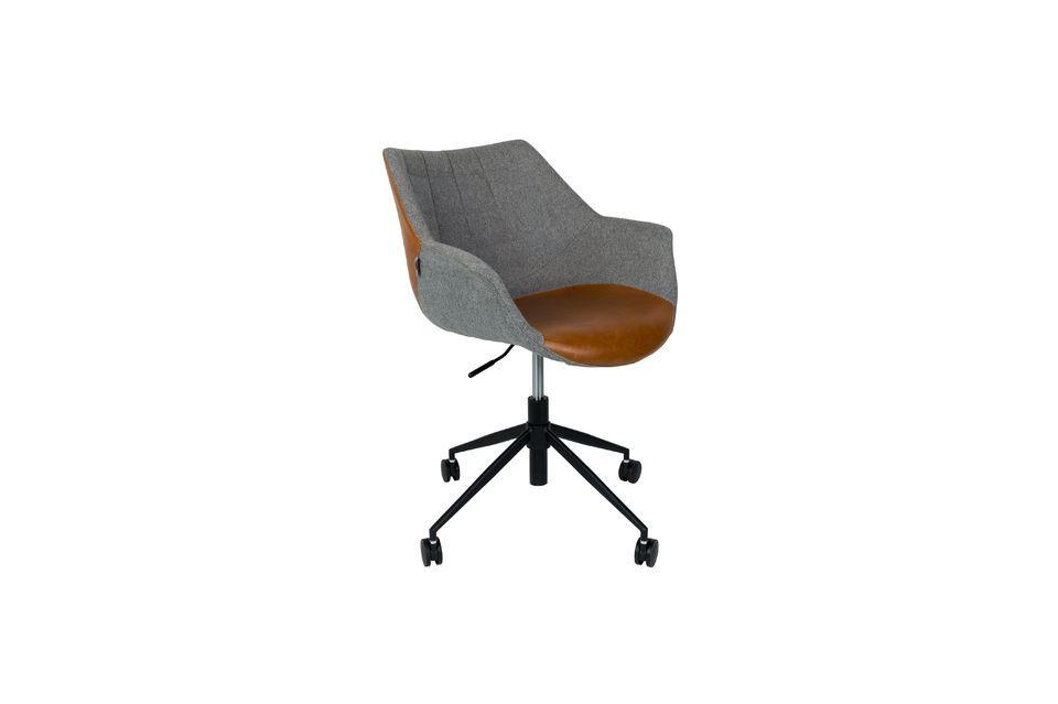 Chaise de bureau Doulton Vintage Brown - 8