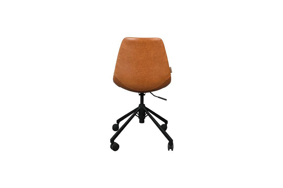 Chaise de bureau Franky marron - 8