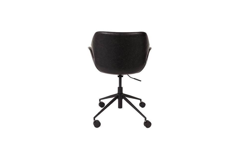 Chaise de bureau Nikki All Black - 6