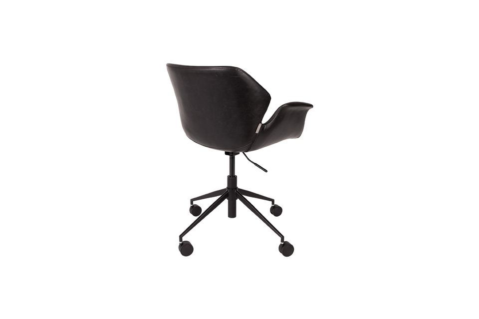 Chaise de bureau Nikki All Black - 7