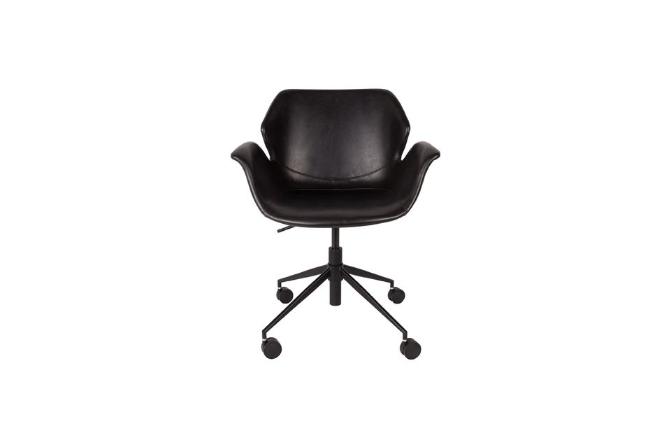 Chaise de bureau Nikki All Black - 9