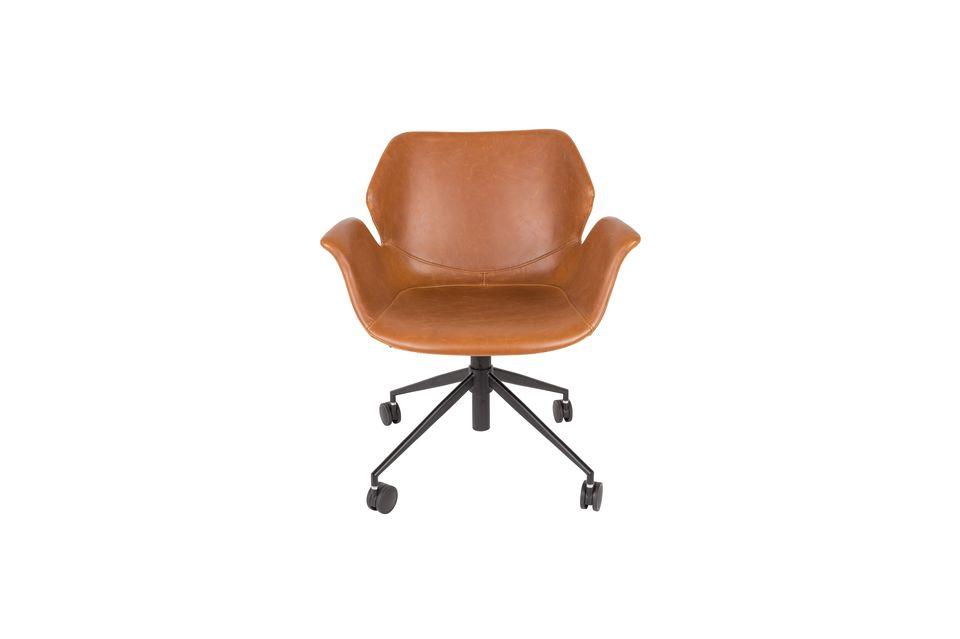 Chaise de bureau Nikki All Brown - 6