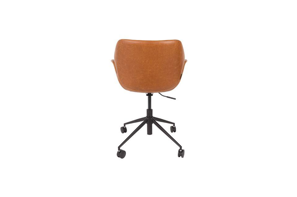 Chaise de bureau Nikki All Brown - 8