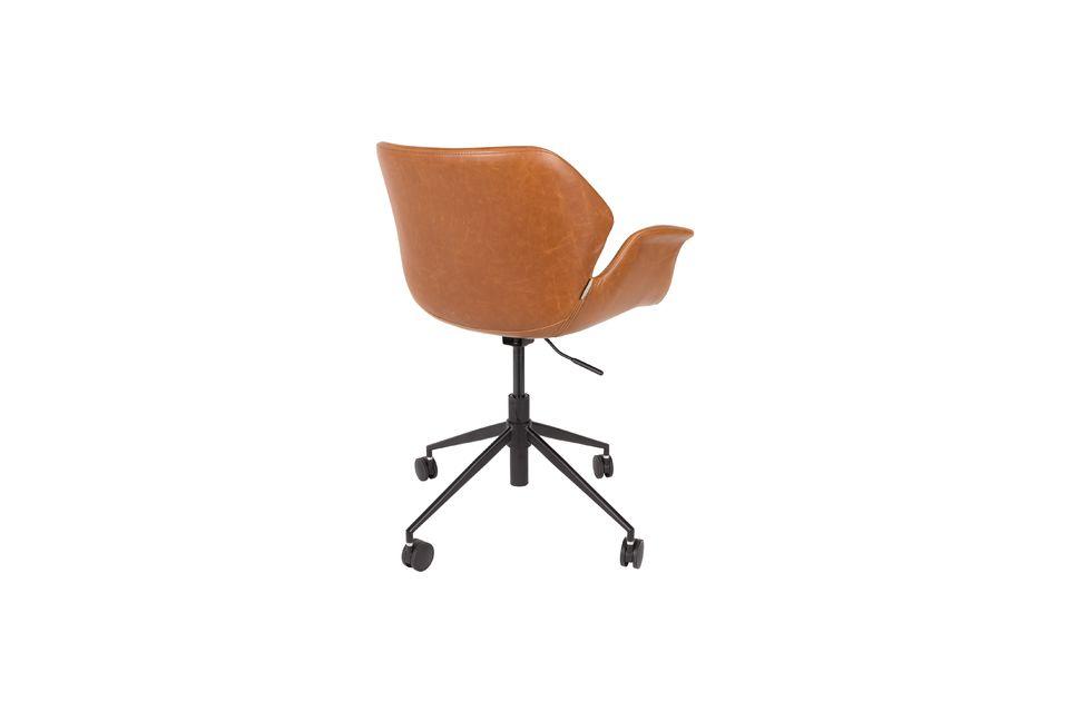 Chaise de bureau Nikki All Brown - 9