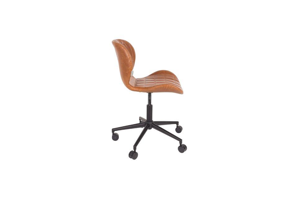 Chaise de bureau Omg Li Marron - 10
