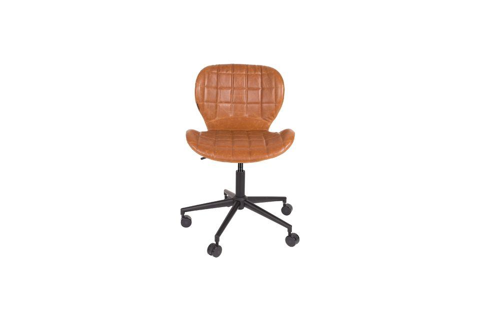 Chaise de bureau Omg Li Marron - 11