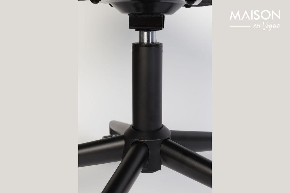 Chaise de bureau OMG noire et grise - 5