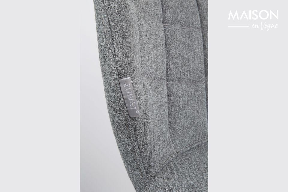 Chaise de bureau OMG noire et grise - 7