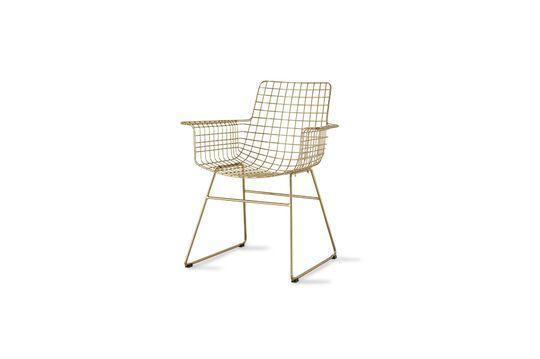 Chaise en fil métallique Wuisse