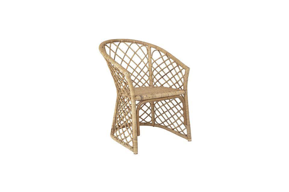 Ambiance nature avec cette chaise en rotin