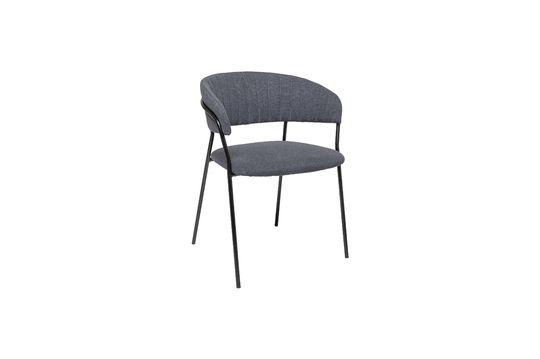 Chaise Form grise en polyester Détouré