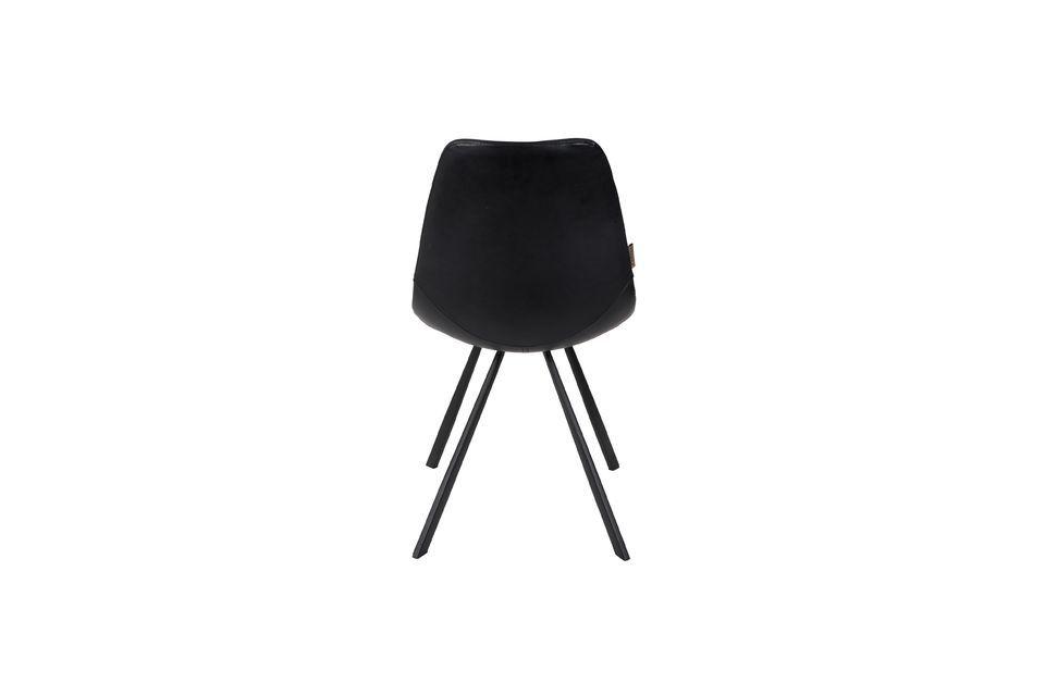Chaise Franky noire - 8