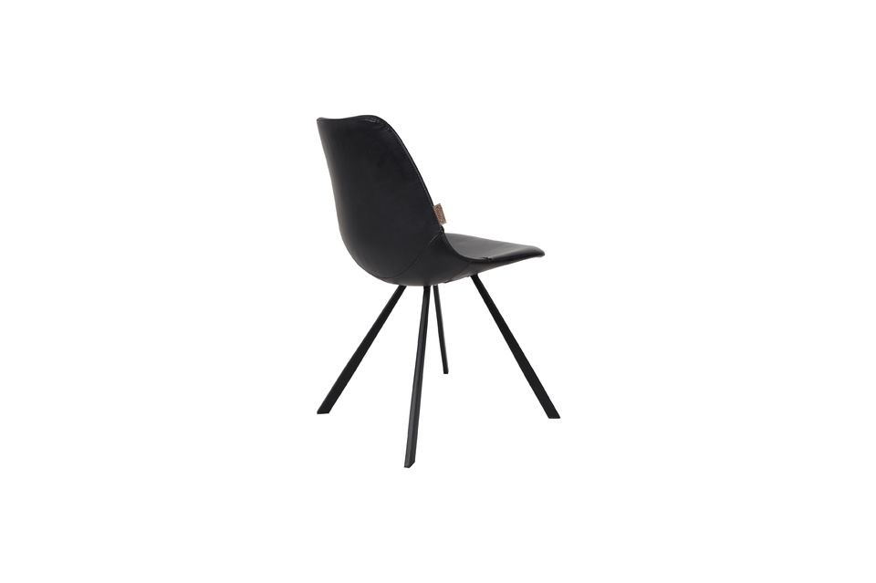 Chaise Franky noire - 9