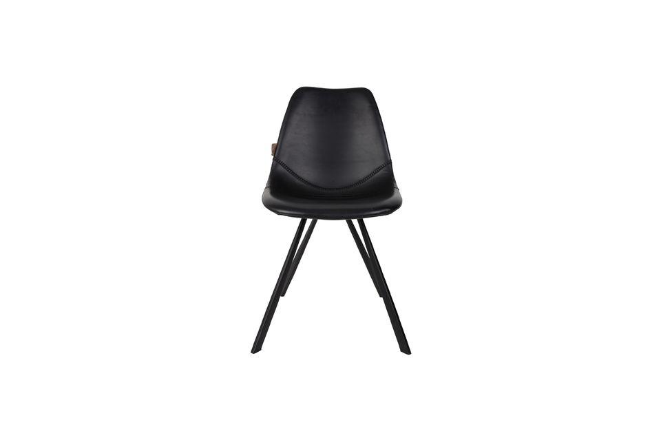 Chaise Franky noire - 10