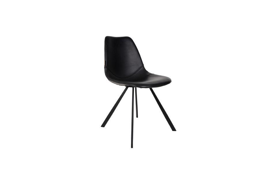 Chaise Franky noire - 6