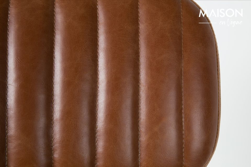 Une chaise confortable au design vintage