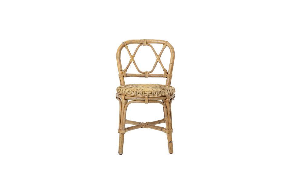 Chaise Julietta en rotin - 4