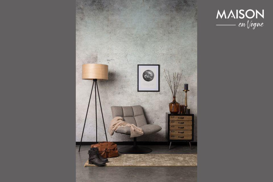 Ultra-design et pivotante, la chaise lounge Bar proposée par Dutchbone a tout pour plaire