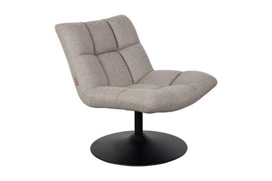 Chaise lounge Bar grise claire Détouré