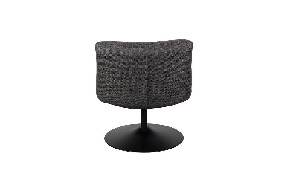 Chaise lounge Bar Grise Foncée - 7