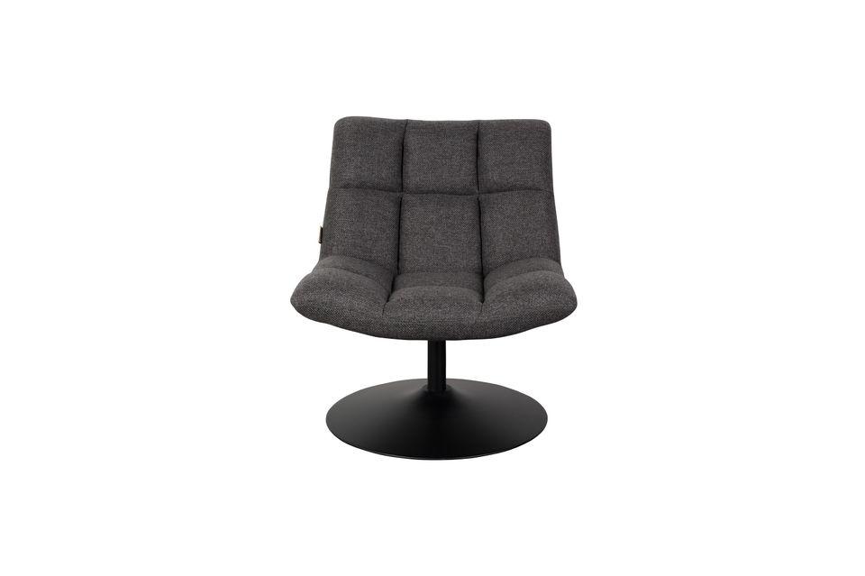Chaise lounge Bar Grise Foncée - 9