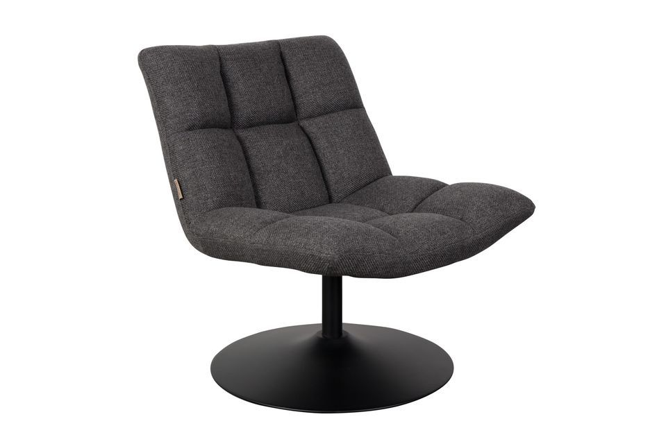 Cette chaise de bar peut supporter un poids de 120 kg maximum