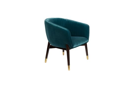 Chaise lounge Dolly Bleue Détouré