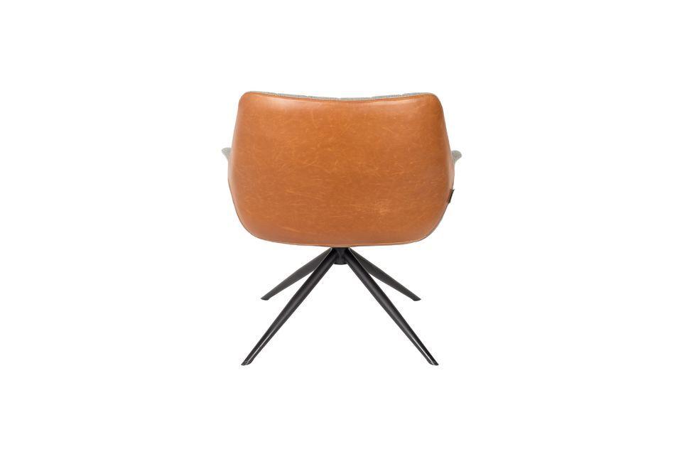 Chaise lounge Doulton Vintage Marron - 8