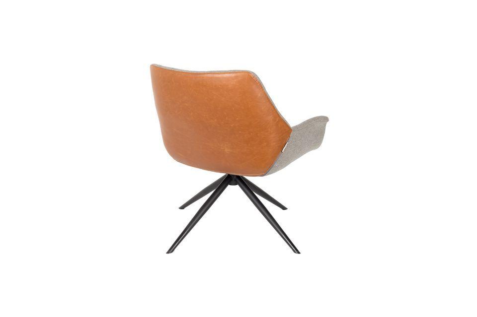 Chaise lounge Doulton Vintage Marron - 9